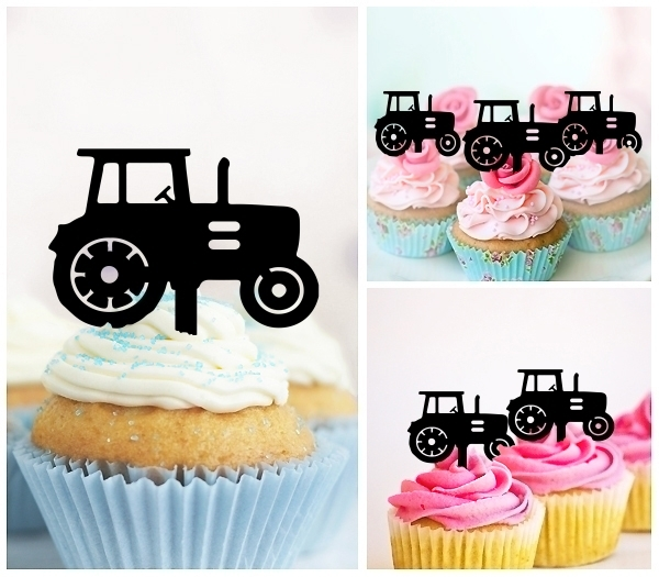 Acrylic Toppers Farm Tractor Design