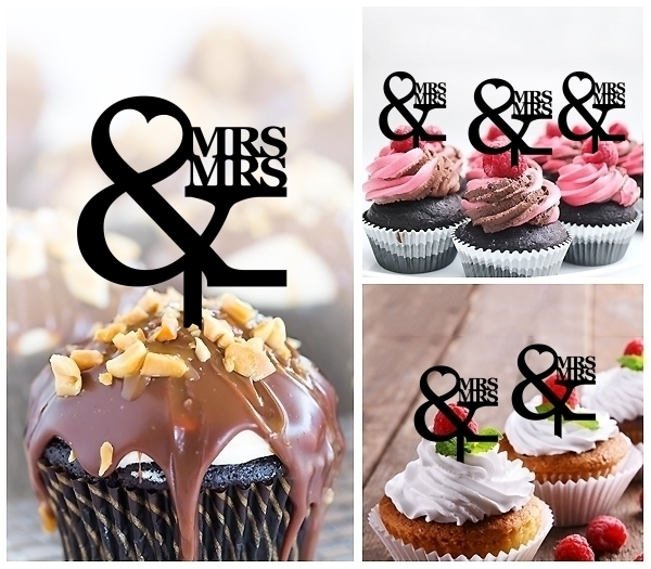 Acrylic Toppers MRS and MRS Design