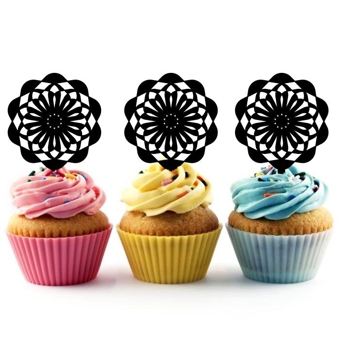 Ta0005 Ferris Wheel Party Acrylic Cupcake Picks Topper 10 Pcs Ebay