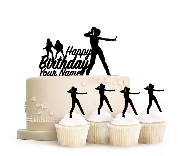 Topper Happy Birthday Hip Hop Female Dance
